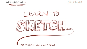 Learn to Sketch Series Title