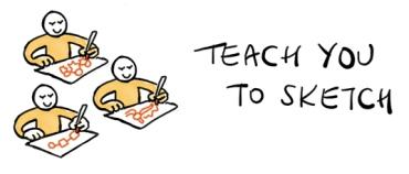 Teach-you-to-sketch
